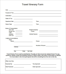 Free 6 Holiday Itinerary Templates In Word Excel Pdf Psd