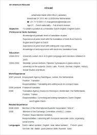 Microsoft Resume Format Ms Simple Free Resume Samples Word 1 Sweet ...