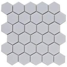 bct tiles shades of grey hexagon porcelain white mosaic tiles 300 x 300mm bct38320