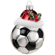 Inge Glas Christbaumschmuck Fußball