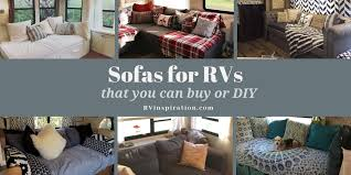 rv sofa bed replacement ideas with