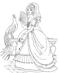 Small Picture Princess Coloring Pages Not Disney Coloring Pages