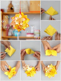 Paper Folded Flower 40 Origami Flowers You Can Do Art And Design