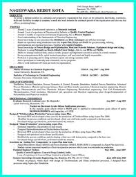 Template Engineering Resume Templates 72 Images Chemical Engineer