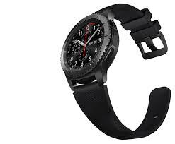 samsung watch gear s3. bandingkan dengan asus zenwatch 3 yang hanya memiliki ketebalan tubuh 10.75mm dan bobot lebih ringan. untuk ukuran case-nya, samsung gear s3 watch p