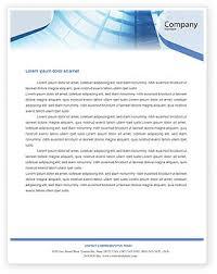 Microsoft Office Letterheads Office Letterhead Templates In Microsoft Word Adobe