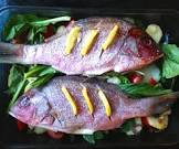 baked fish  spanish style