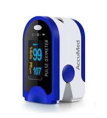 AccuMed <b>CMS-50D</b> Finger <b>Pulse Oximeter</b> Blood Oxygen <b>SpO2</b> ...