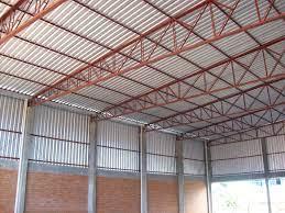 Clique nas imagens para ampliar. Galpao Em Estrutura Metalica Coberturas Metalicas Estrutura Metalica Estrutura Metalica Telhado