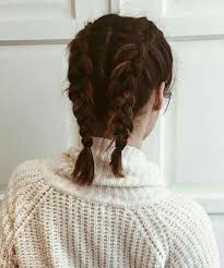 French Braided Pigtails 11 Surprisingly Easy Braids For Short Hair
