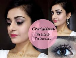 bridal makeup bright lips tutorial