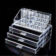 2019 whole multi style drawers jewelry box organizer holder case makeup holder clear acrylic skin care set display cabinet eqc347 pok from car
