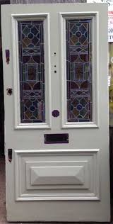 white victorian edwardian front door