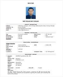 Resume Format Doc Asafonggecco Throughout Resume Doc Format Resume Magnificent ResumeDoc