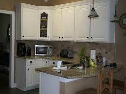 Alabaster White Kitchen Cabinets Magnificent White Kitchen With Granite Small Kitchen Gallery