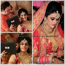 best bridal makeup artist from delhi nolw available in amritsar