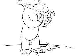 Butterflies And Curious George Coloring Pages Disney Halloween Cat