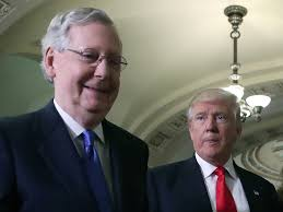 Image result for Trump/mcconnell