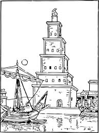 Small Picture Coloring Pages For Ancient Wonders Of The World family holiday