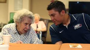 21 photos: AIB baseball players bond with senior citizens