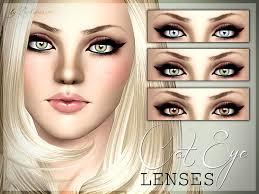 cat eye lenses