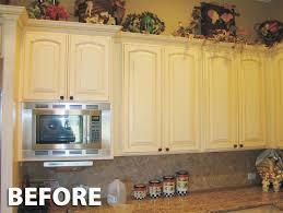 kitchen cabinet refinishing kit luxury before after refinishing kitchen cabinets kit with toasted almond