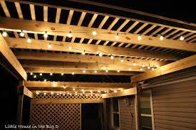 pergola lighting ideas design. Uncategorized Hanging Pergola Lighting Amazing Little House In The Big Setting Mood With Patio Lights Pics Ideas Design E