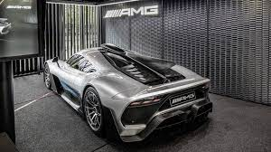 The car has five motors with different functions on board: Mercedes Amg One F1 Powered Hypercar Deliveries To Start In 2021