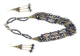 Funky Necklace Designs Buy Modern Stylish Funky Fashion Glass Beads Designer