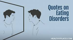 Anorexia Quotes Delectable Quotes On Eating Disorders HealthyPlace