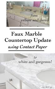 you will not believe how easy it is to update old countertops just use contact