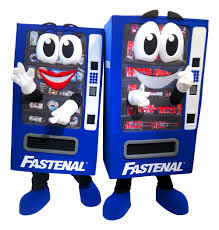 Fastenal Vending Machine Interesting Meet The Fastenal Vending Machine Custom Mascot Made By BAM Mascots