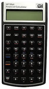 Financial Calculator Hp 10bii Financial Calculator