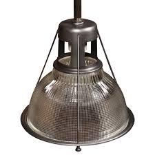original vintage american made holophane light 1