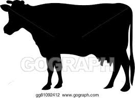 cow silhouette clip art.  Cow Cow Silhouette Throughout Silhouette Clip Art