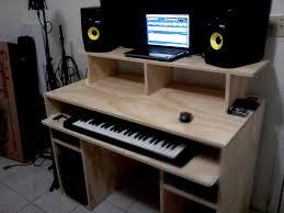my diy recording studio desk gearz pro audio munity