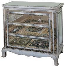 mirror effect furniture. three drawer french mirrored chest farmhousedressers mirror effect furniture