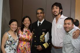 Dad, husband, doctor, author, 19th & 21st surgeon general of the united states. P D Soros Fellowship For New Americans Fellow Reflection Us Surgeon General Dr Vivek Murthy