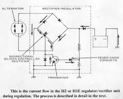 triple maintenance manual the rectifier and voltage regulator are built into one unit in these charging systems the rectifier regulator unit is a solid state type and cannot be