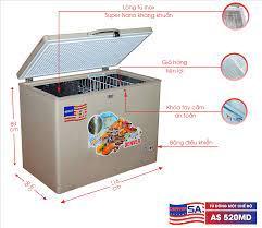 Tủ đông Denver AS 520MD - 430 Lít - Dàn lạnh đồng - Lòng chống dính