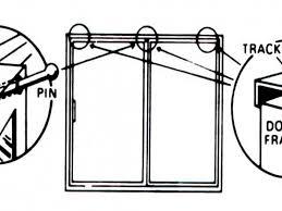 crime safety tips sliding glass door security