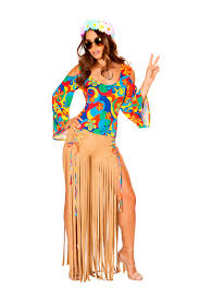 Roma Costume Size Chart Roma Costume Two Piece 1960s Hippie Fancy Dress Costume