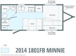 winnebago travel trailers floor plans floor matttroy