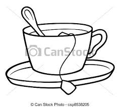tea cup clip art. Plain Tea Tea Cup  Csp8538205 To Clip Art A