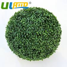 Decorative Boxwood Balls 100 Boxwood Ball Inoutdoor Topiary Tree Plant Bush Artificial 55