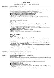 Bioinformatics Analyst Resume Sample Software Analyst Resume Samples Velvet Jobs 23
