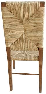 teak chair. Large Stewart Teak And Seagrass Dining Chair 0