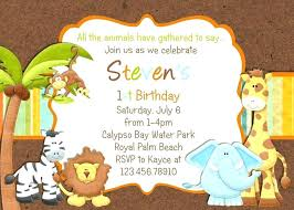 Free Printable Safari Birthday Invitations Jungle Theme Birthday Invitations Orgullolgbt