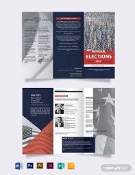 Campaign Brochure 12 Election Brochure Templates Free Psd Eps Illustrator
