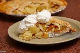 apple pie slice with whipped cream. Wonderful With Slice Of Apple Pie Topped With Whipped Cream  Stock Photo Inside Apple Pie With Whipped Cream